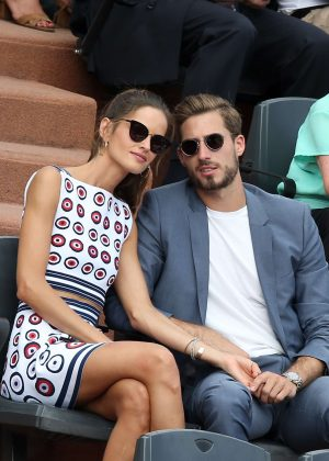 Izabel Goulart - 2017 French Open at Roland Garros in Paris
