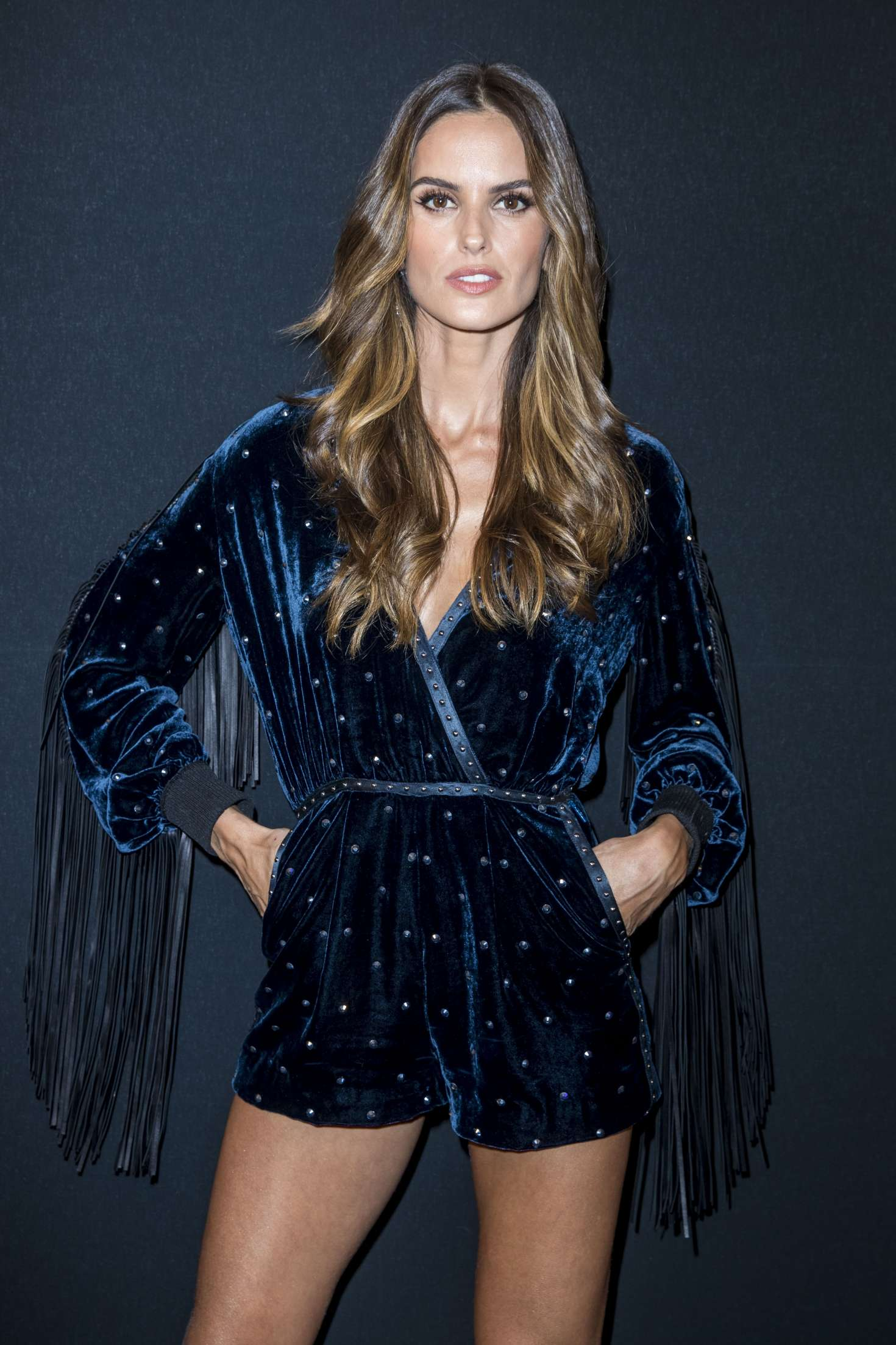 Izabel Goulart - 2018 Charity Dinner hosted by the AEM Association Children in Paris