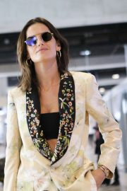 Izabel Goulart - Arrives at Nice Airport in France