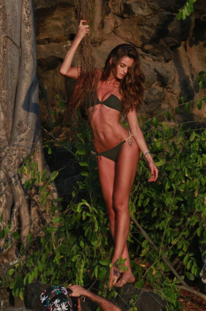 Izabel Goulart - Bikini Photoshoot at Fernando de Noronha