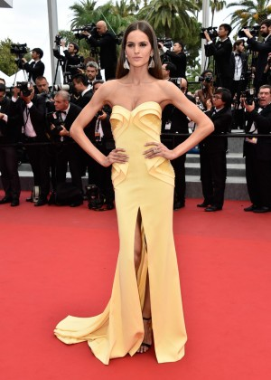 Izabel Goulart - Closing Ceremony and 'Le Glace Et Le Ciel' Premiere in Cannes