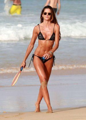 Izabel Goulart in Bikini at Cacimba Do Padre Beach in Fernando De Noronha