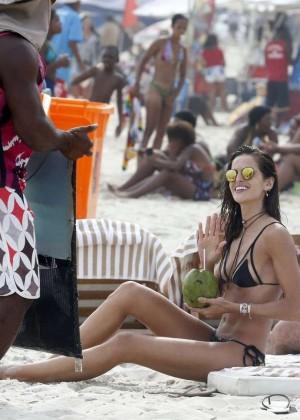 Izabel Goulart in Bikini -02