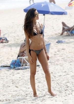 Izabel Goulart in Bikini in Rio de Janeiro