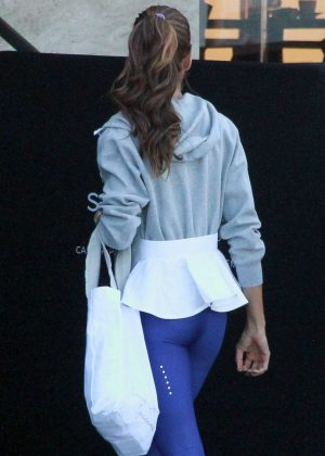 Izabel Goulart in Tights out in Rio