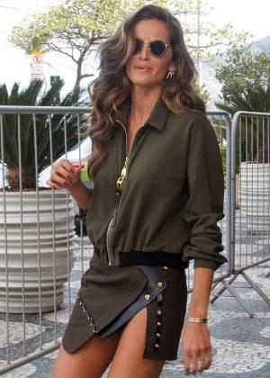 Izabel Goulart - Leaving a Hotel in Rio de Janeiro