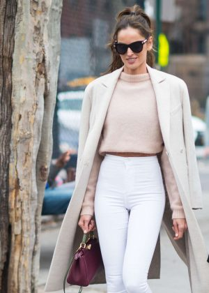 Izabel Goulart out and about in New York City