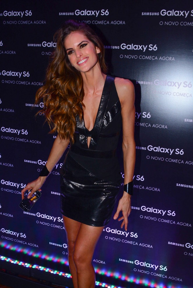Izabel Goulart - Samsung Galaxy S6 & S6 Edge Launch in Sao Paulo