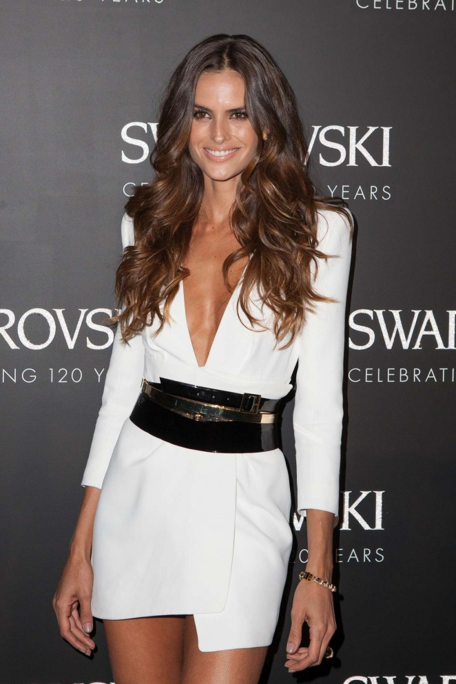Izabel Goulart - Swarovski 120 X Rizzoli Exhibition & Cocktail at PFW SS 2016 in Paris