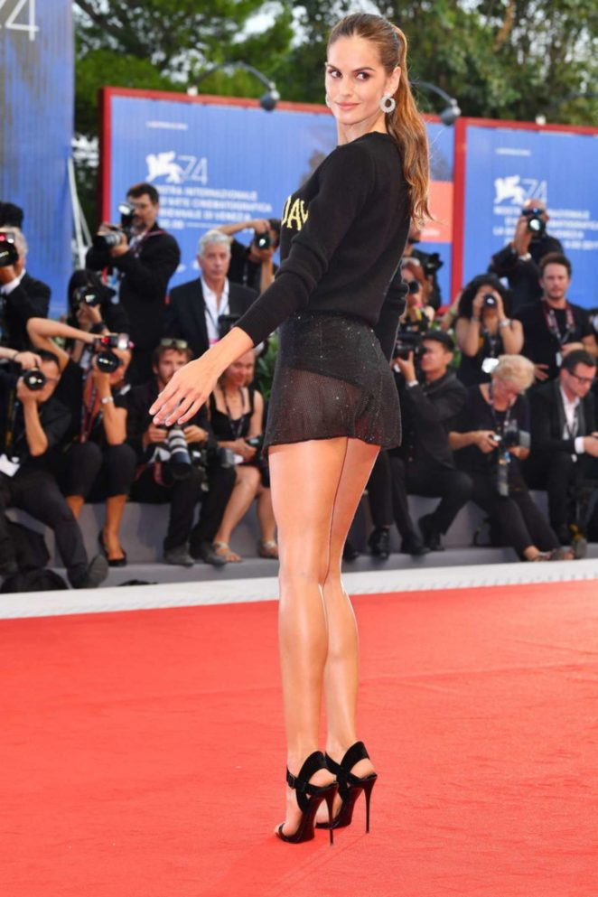 Izabel Goulart - The Shape of Water premiere at 2017 Venice Festival