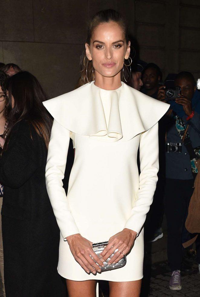 Izabel Goulart - Valentino Haute Couture SS 2018 Showin Paris
