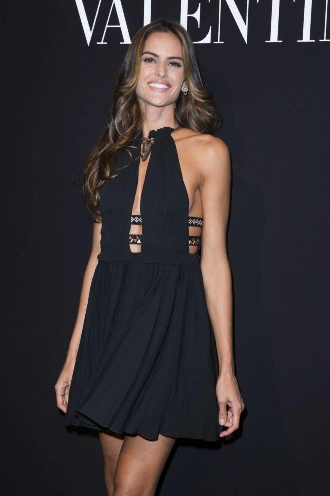 Izabel Goulart - Valentino Menswear Fall/Winter 2016/ 2017 Fashion Show in Paris