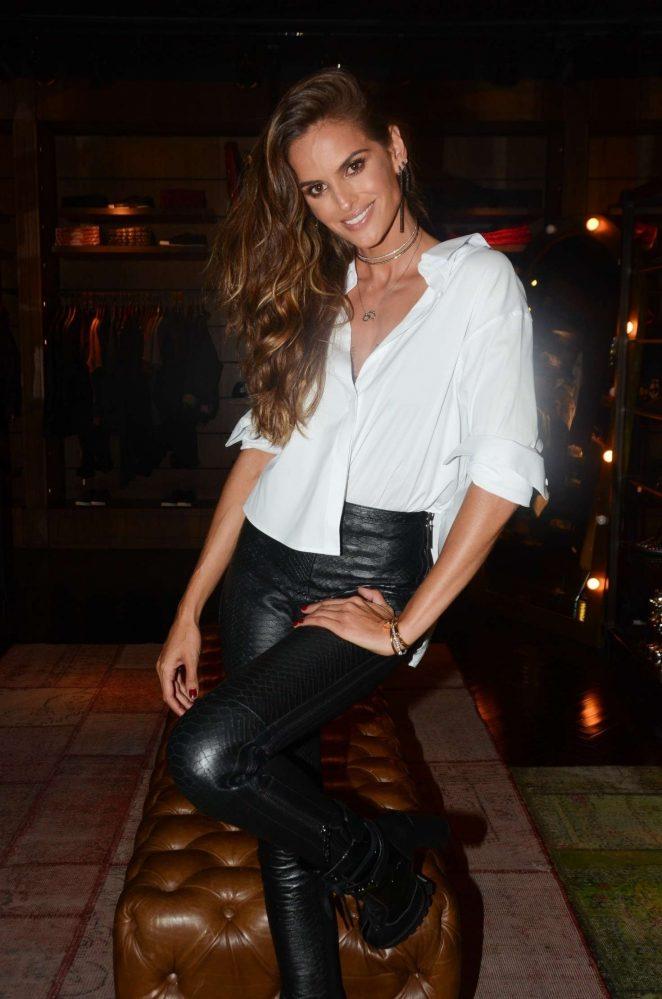 Izabel Goulart – VIP presence at a designer store in Sao Paulo