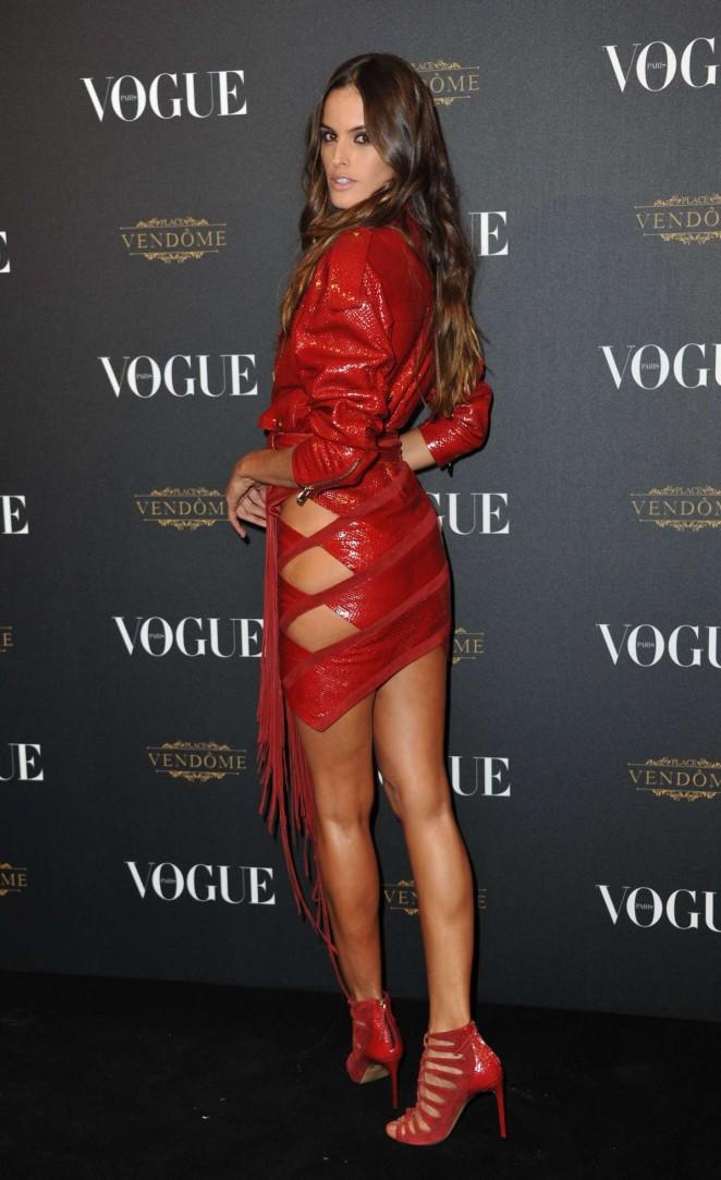 Izabel Goulart – Vogue 95th Anniversary Party in Paris