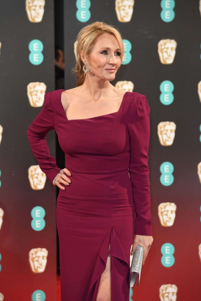 J.K. Rowling - 2017 British Academy Film Awards in London