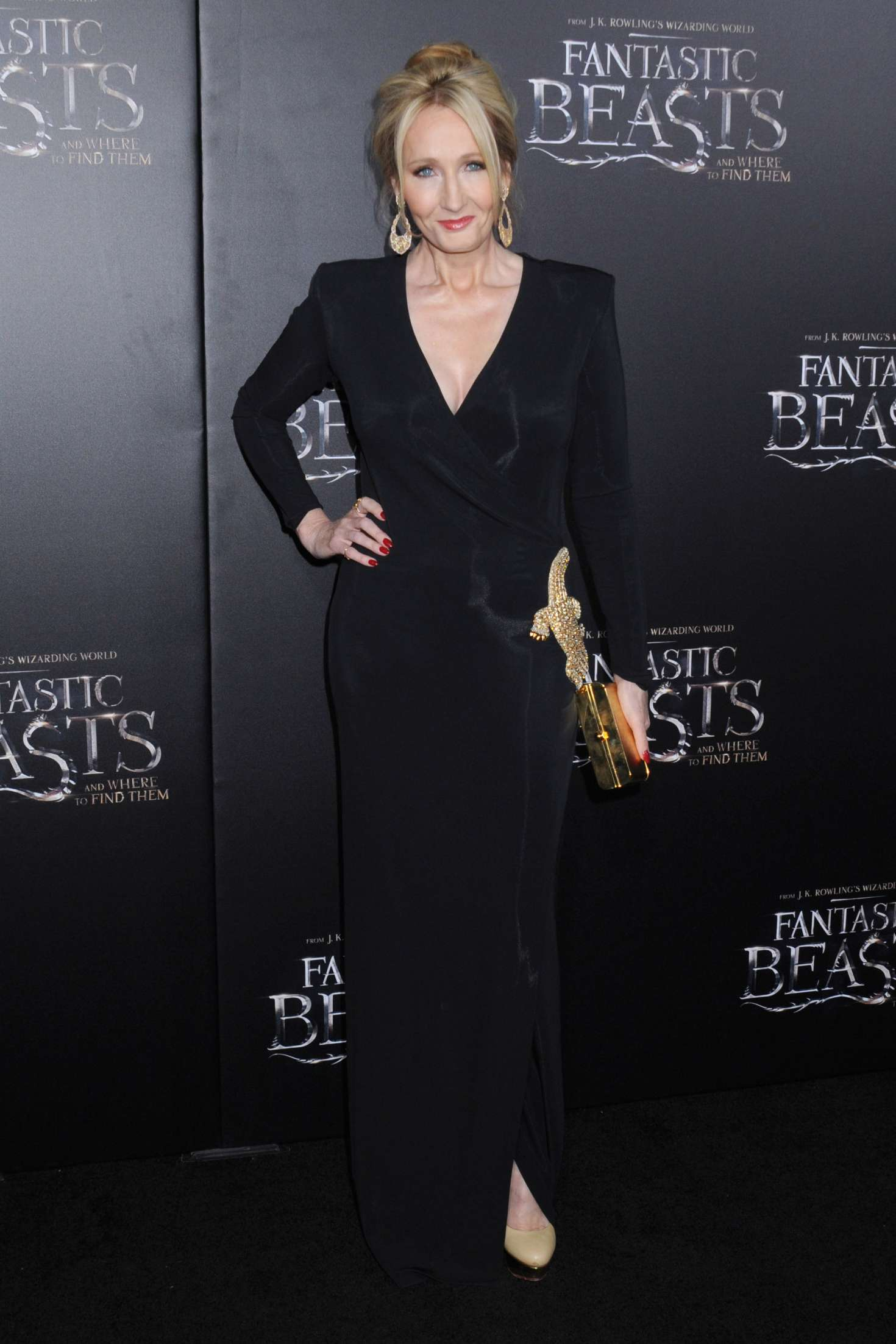 Jk Rowling Fantastic Beasts And Where To Find Them Premiere 07