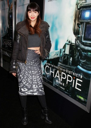 "Jackie Cruz - ""Chappie"" Premiere in NYC"
