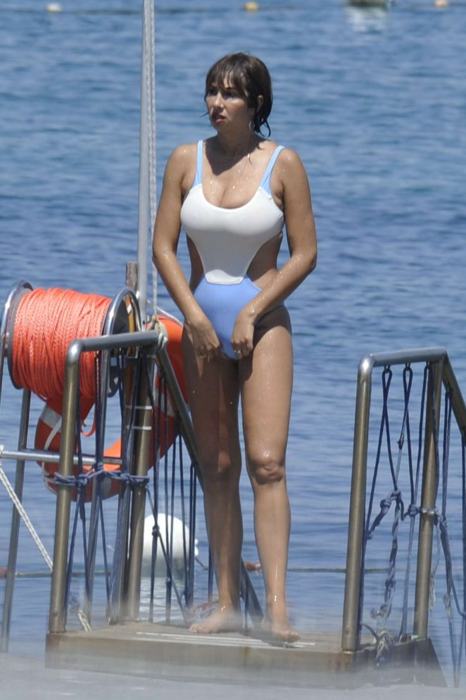 Jackie Cruz in Swimsuit in Italy
