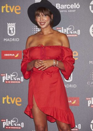 Jackie Cruz – Platino Awards 2017 in Madrid