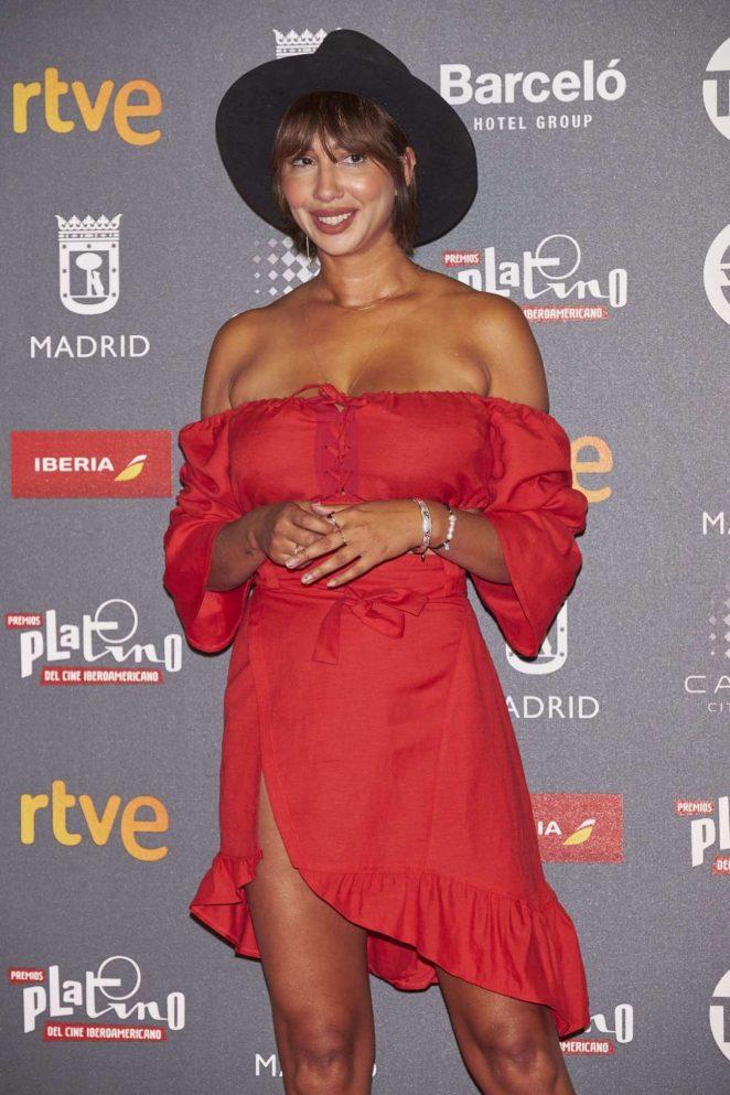Jackie Cruz – Platino Awards 2017 in Madrid