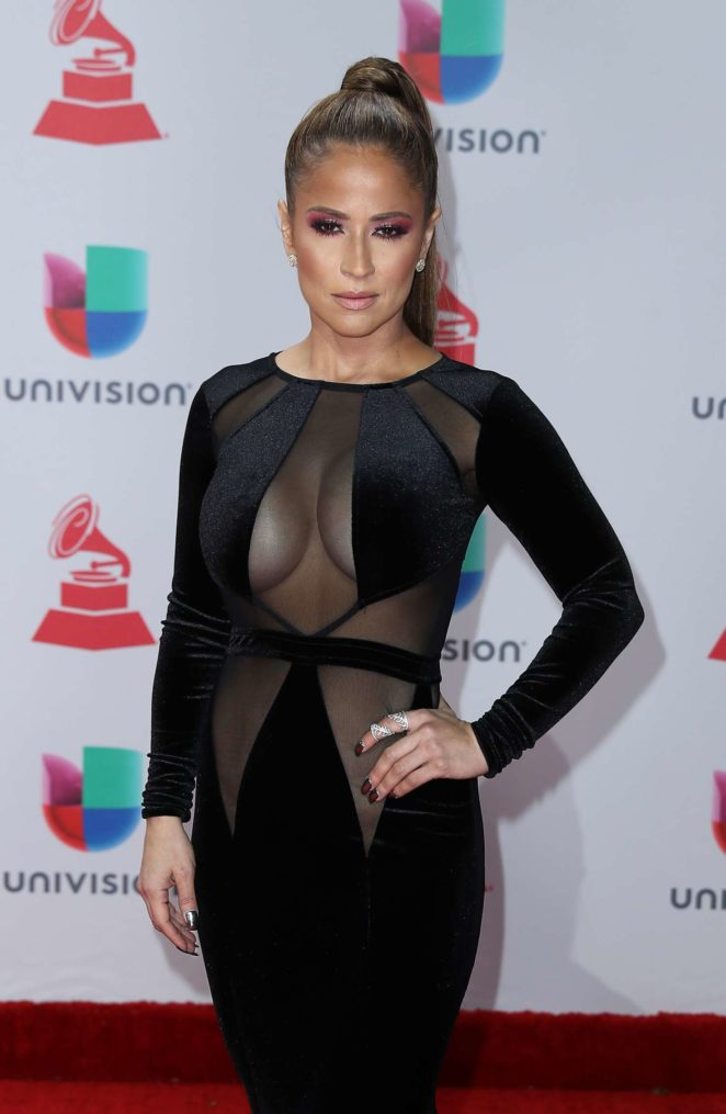 Jackie Guerrido - 2017 Latin Grammy Awards in Las Vegas