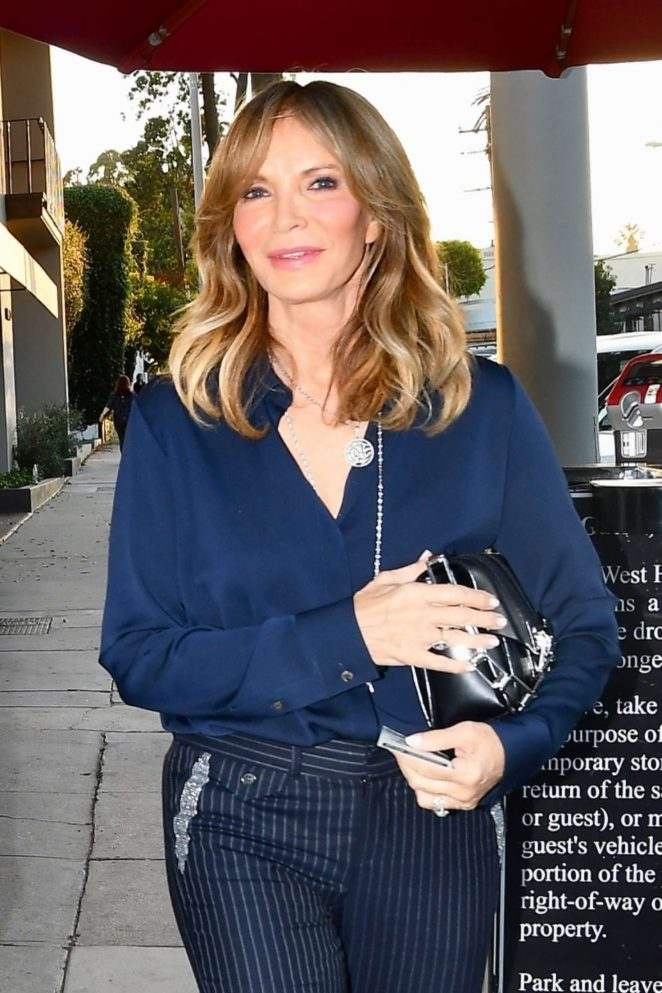 9d877e60c6 Jaclyn Smith  Heads at Craigs in West Hollywood -05 – GotCeleb