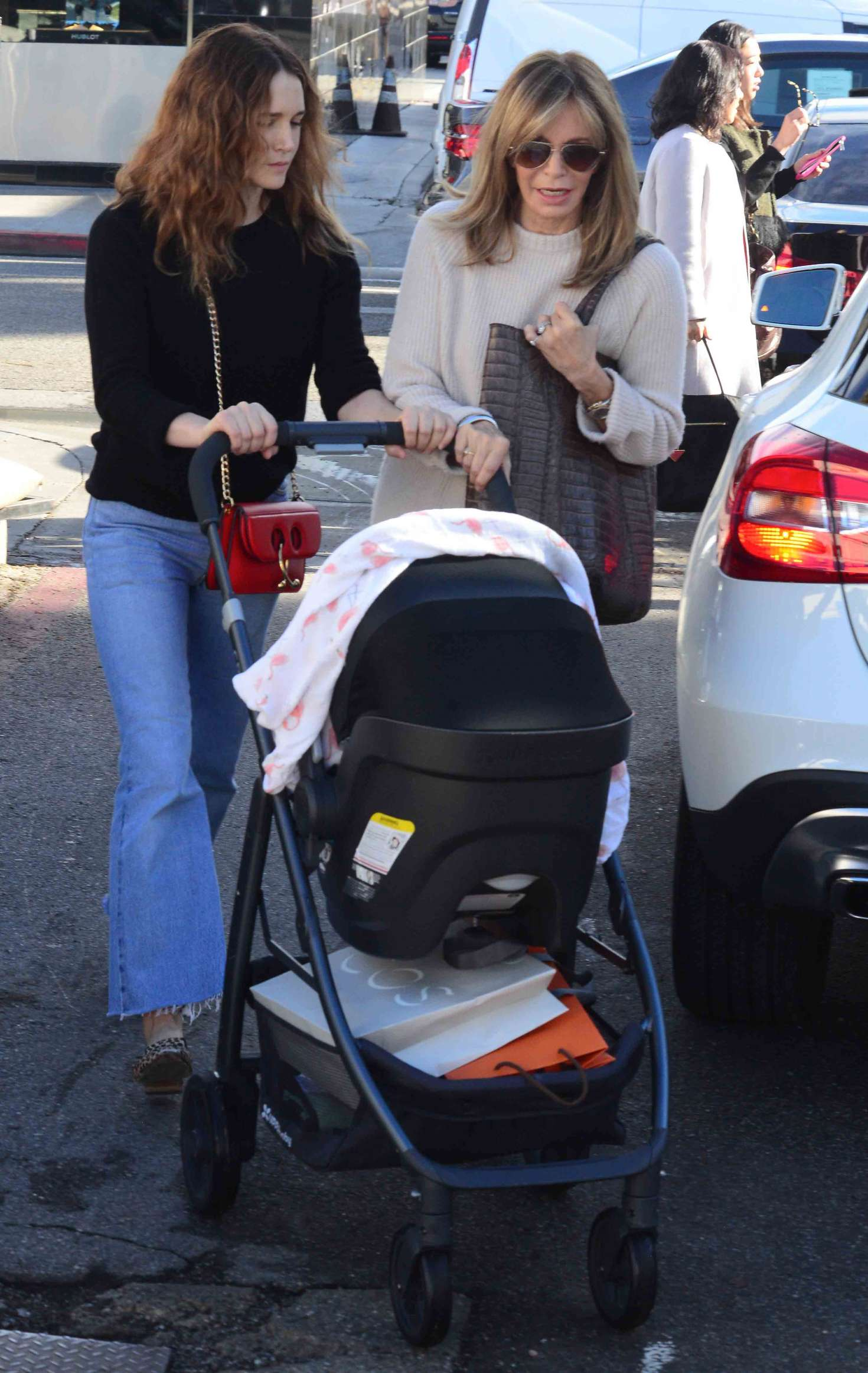 91a4e45d9d Jaclyn Smith with daughter Spencer Margaret Richmond out in Beverly Hills  -10