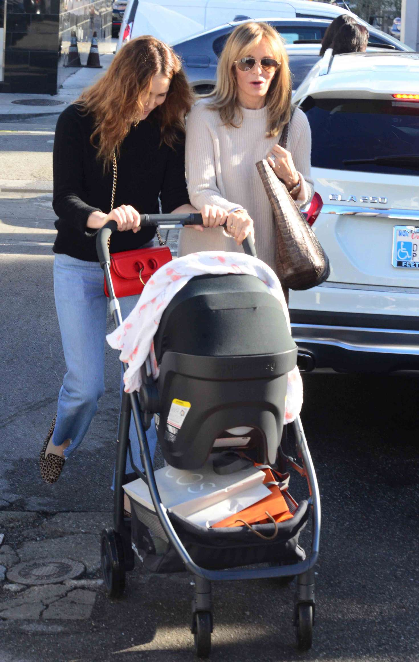 f30ac67a3a Jaclyn Smith with daughter Spencer Margaret Richmond out in Beverly Hills  -16