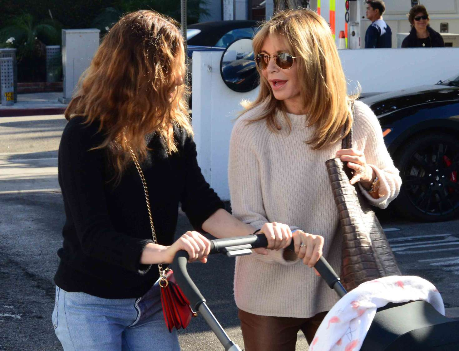 aeae1886a3 Jaclyn Smith with daughter Spencer Margaret Richmond out in Beverly Hills  -17