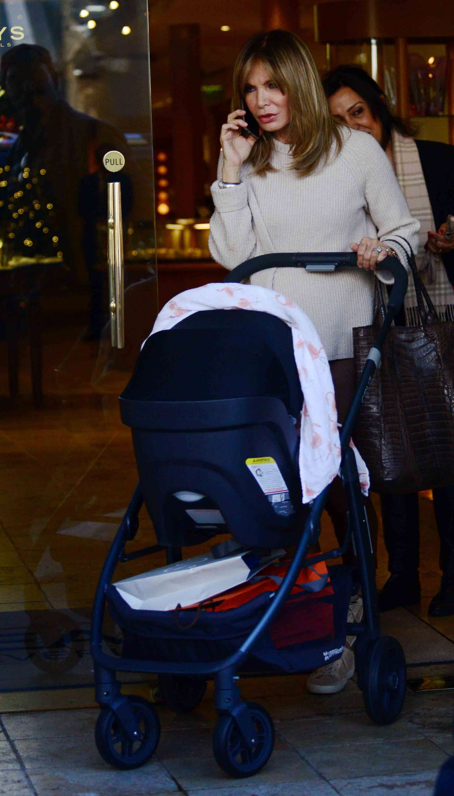 4355418959 Jaclyn Smith with daughter Spencer Margaret Richmond out in Beverly Hills  -18