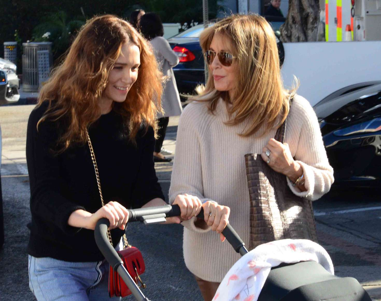 0ba21793bf Jaclyn Smith with daughter Spencer Margaret Richmond out in Beverly Hills  -22