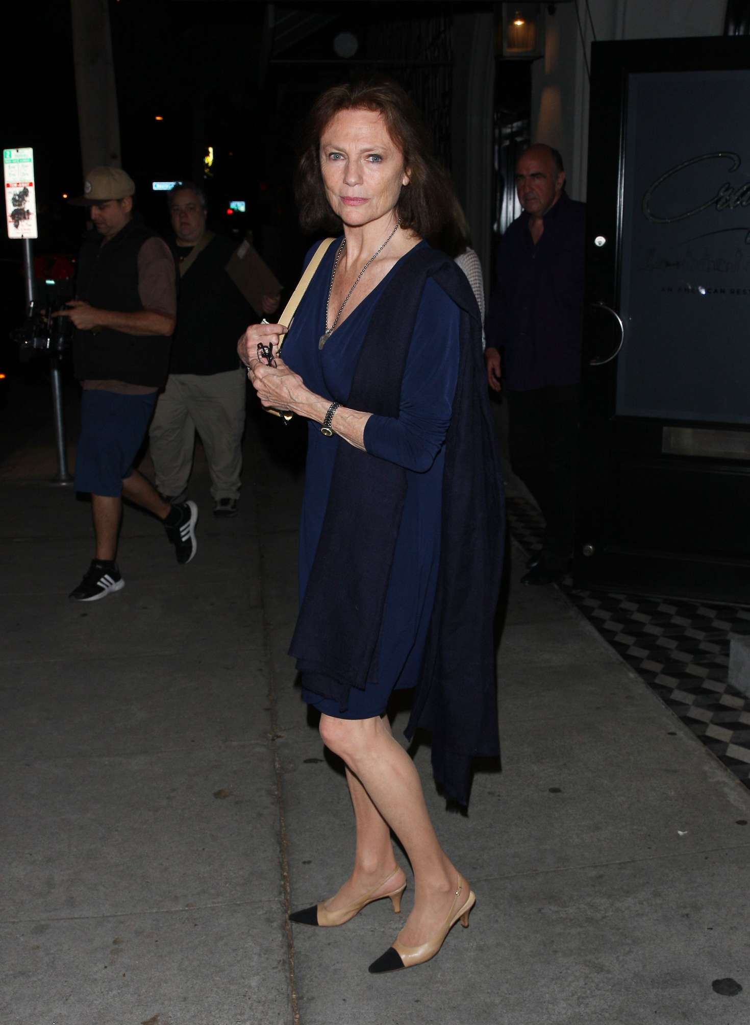 Gabriella Onion Booty with regard to jacqueline bisset at craig's restaurant in west hollywood