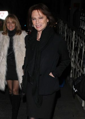 Jacqueline Bisset - Heads to Italian Restaurant Madeo in West Hollywood