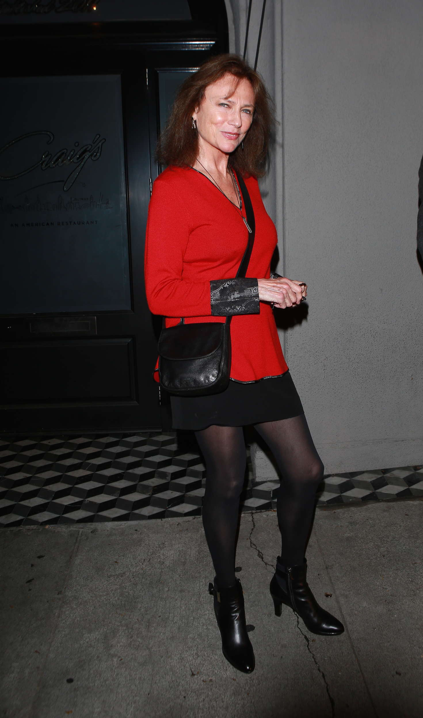 Jacqueline Bisset Leaves Craigs In West Hollywood 05 Gotceleb