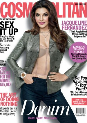 Jacqueline Fernandez - Cosmopolitan India Magazine (June 2018)