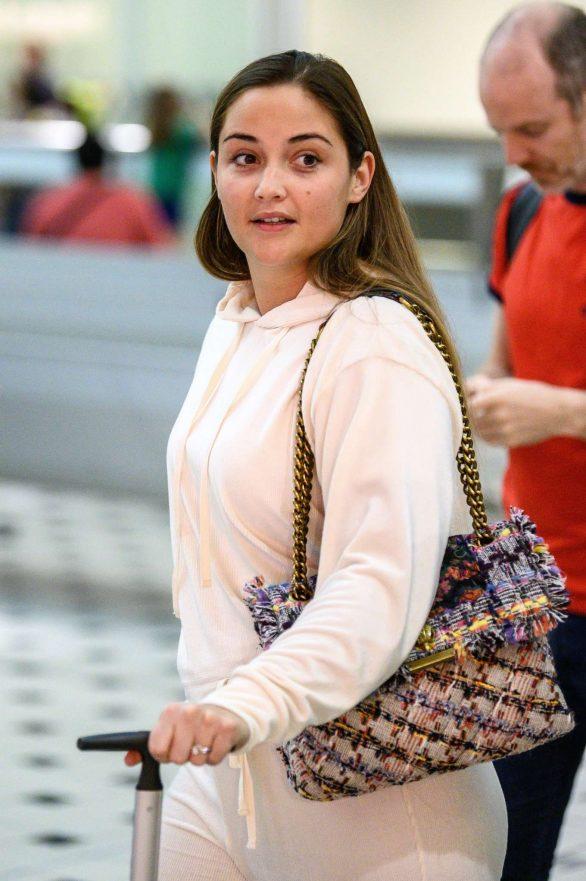 Jacqueline Jossa - Arriving at Brisbane Airport in Australia