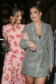 Jacqueline Jossa Osborne and Helen Flanagan - spotted out and about in Mayfair