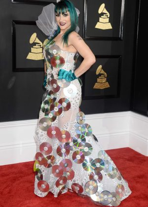 Jacqueline Van Bierk - 59th GRAMMY Awards in Los Angele