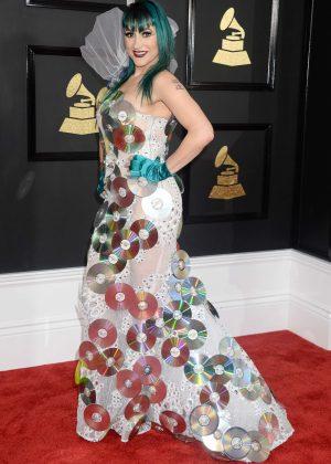Jacqueline Van Bierk - 59th GRAMMY Awards in Los Angele