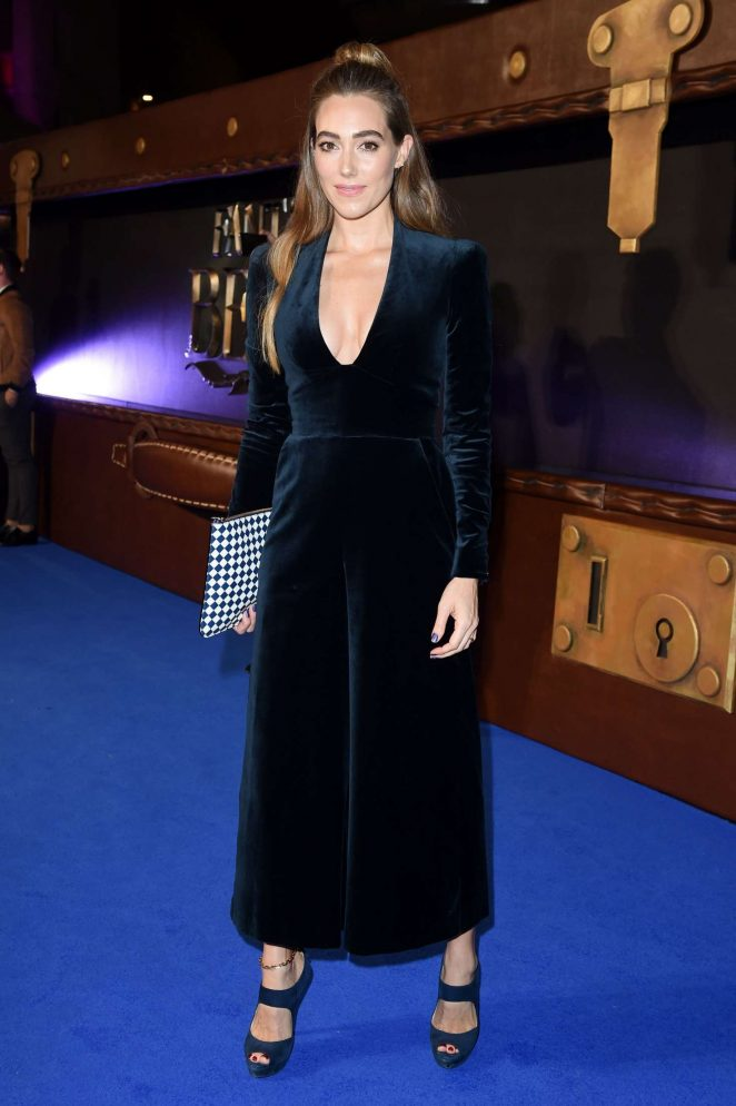 Jacqui Ainsley - 'Fantastic Beasts and Where To Find Them' Premiere in London