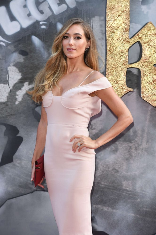 Jacqui Ainsley - 'King Arthur: Legend of the Sword' Premiere in London