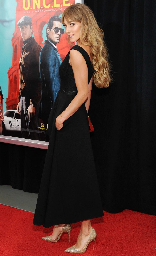 Jacqui Ainsley: The Man From U N C L E  NY Premiere -08