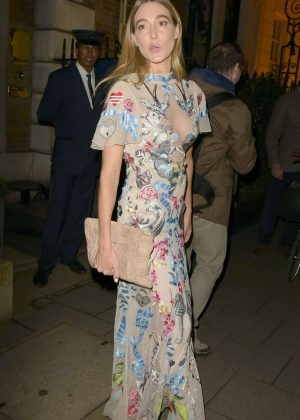 Jacqui Ritchie - Goldie Hawn's Charity Dinner in London
