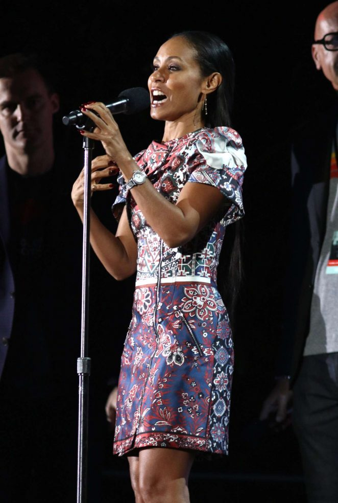 Jada Pinkett Smith - 2016 Global Citizen Festival in New York