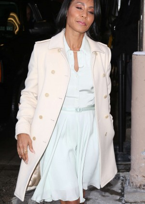Jada Pinkett Smith - Arrive at 'Live with Kelly & Michael' Studios in NYC