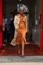 Jada Pinkett Smith - Arrives at Asia House in London