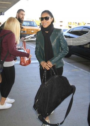 Jada Pinkett Smith at LAX Airport in Los Angeles