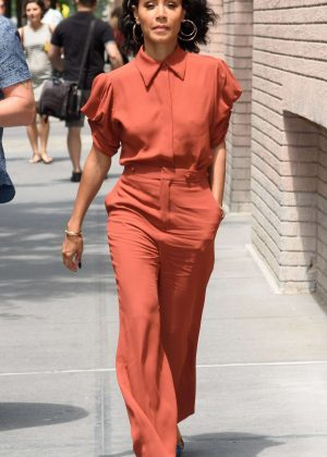 Jada Pinkett Smith at 'The View' Studios in New York City