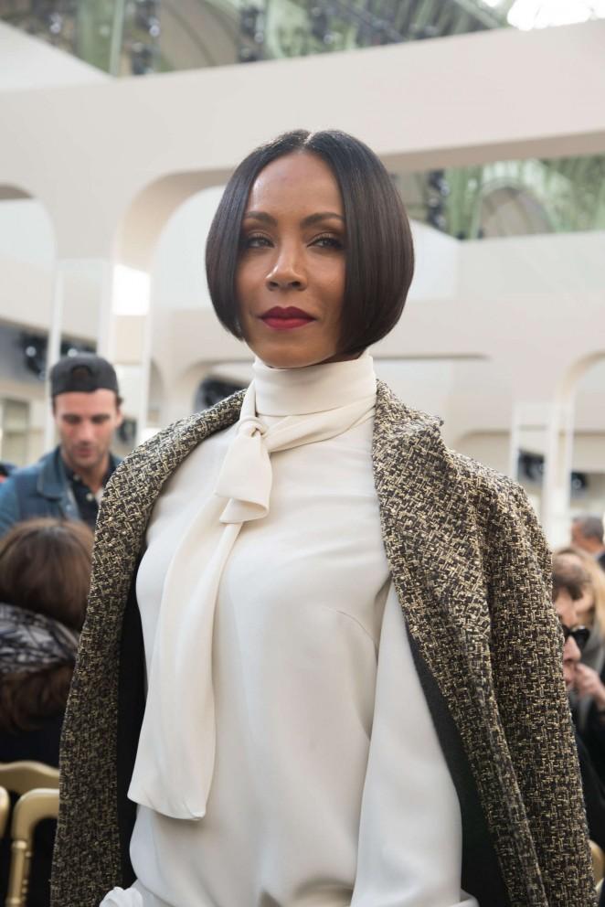 Jada Pinkett Smith - Chanel Fashion Show 2016 in Paris
