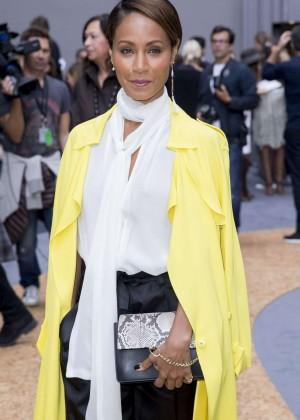 Jada Pinkett Smith - Chloe Fashion Show in Paris